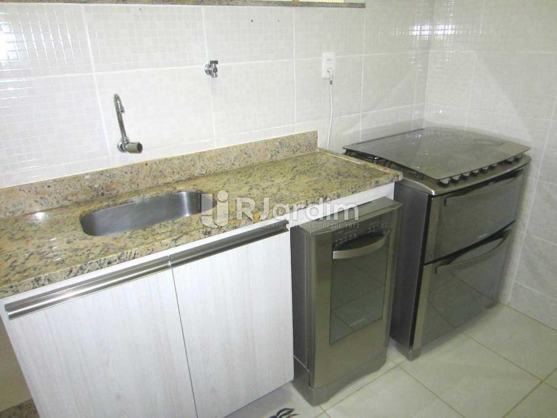 cozinha  - Imóveis Compra Venda Leblon 2 Quartos - LAAP21010 - 12