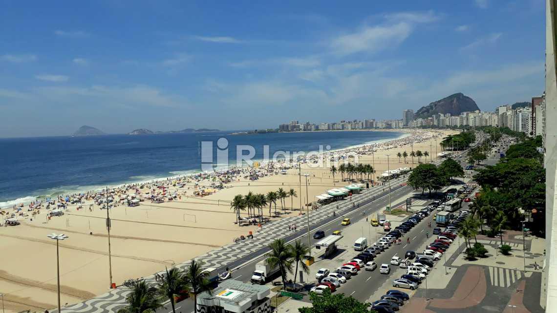 vista sala  - Apartamento 3 quartos Copacabana - LAAP40589 - 10