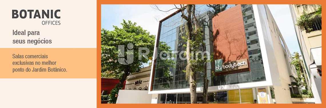 Jardim Botanico Lançamento - Lançamento Botanic Offices Imóveis Comerciais Zona Sul Jardim Botânico - LASL00136 - 1