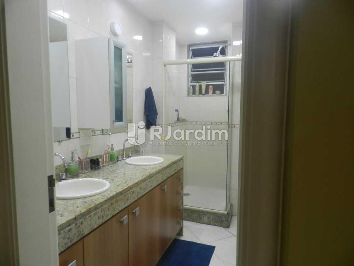 Banheiro Social  - Apartamento 3 quartos Copacabana - LAAP31462 - 6