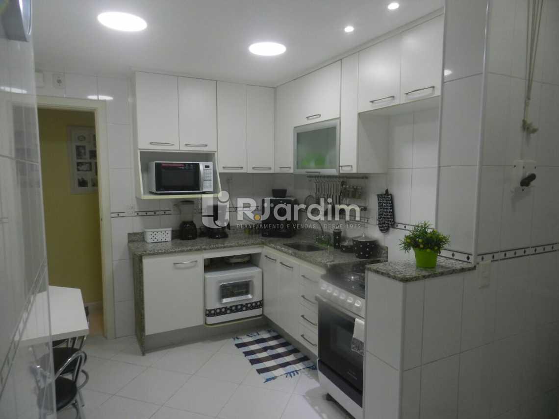 Cozinha  - Apartamento 3 quartos Copacabana - LAAP31462 - 14