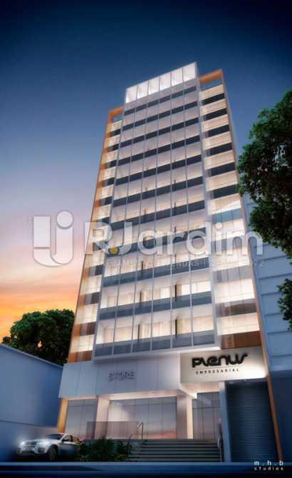 FACHADA NOTURNA - Sala Comercial À VENDA, Tijuca, Rio de Janeiro, RJ - LASL00141 - 3