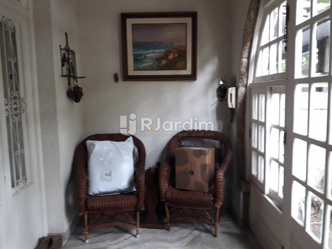 Varanda fechada - Casa à venda Rua Barão da Torre,Ipanema, Zona Sul,Rio de Janeiro - R$ 7.500.000 - LACA40033 - 4