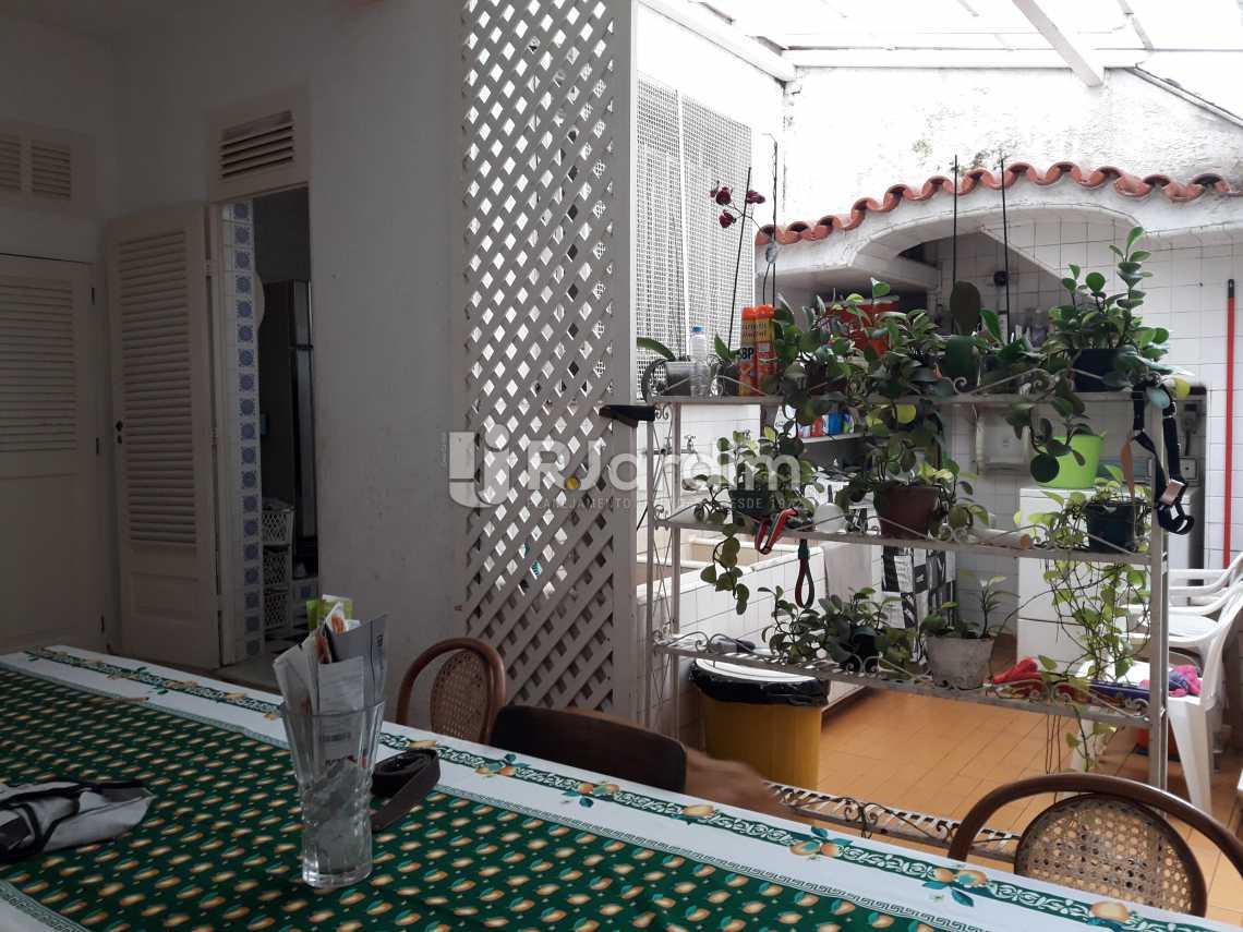 Jardim interno - Casa à venda Rua Barão da Torre,Ipanema, Zona Sul,Rio de Janeiro - R$ 7.500.000 - LACA40033 - 12