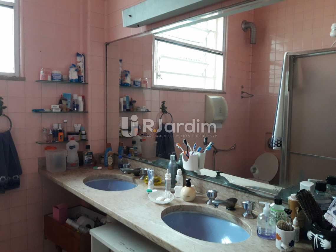 Banheiro social 2 - Casa à venda Rua Barão da Torre,Ipanema, Zona Sul,Rio de Janeiro - R$ 7.500.000 - LACA40033 - 18