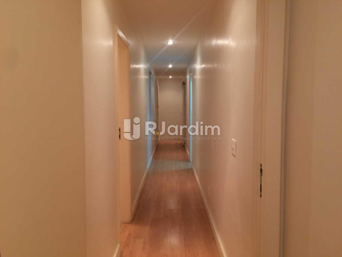 corredor - Compra Venda Avaliação Imóveis Apartamento Ipanema 2 Quartos - LAAP21075 - 7