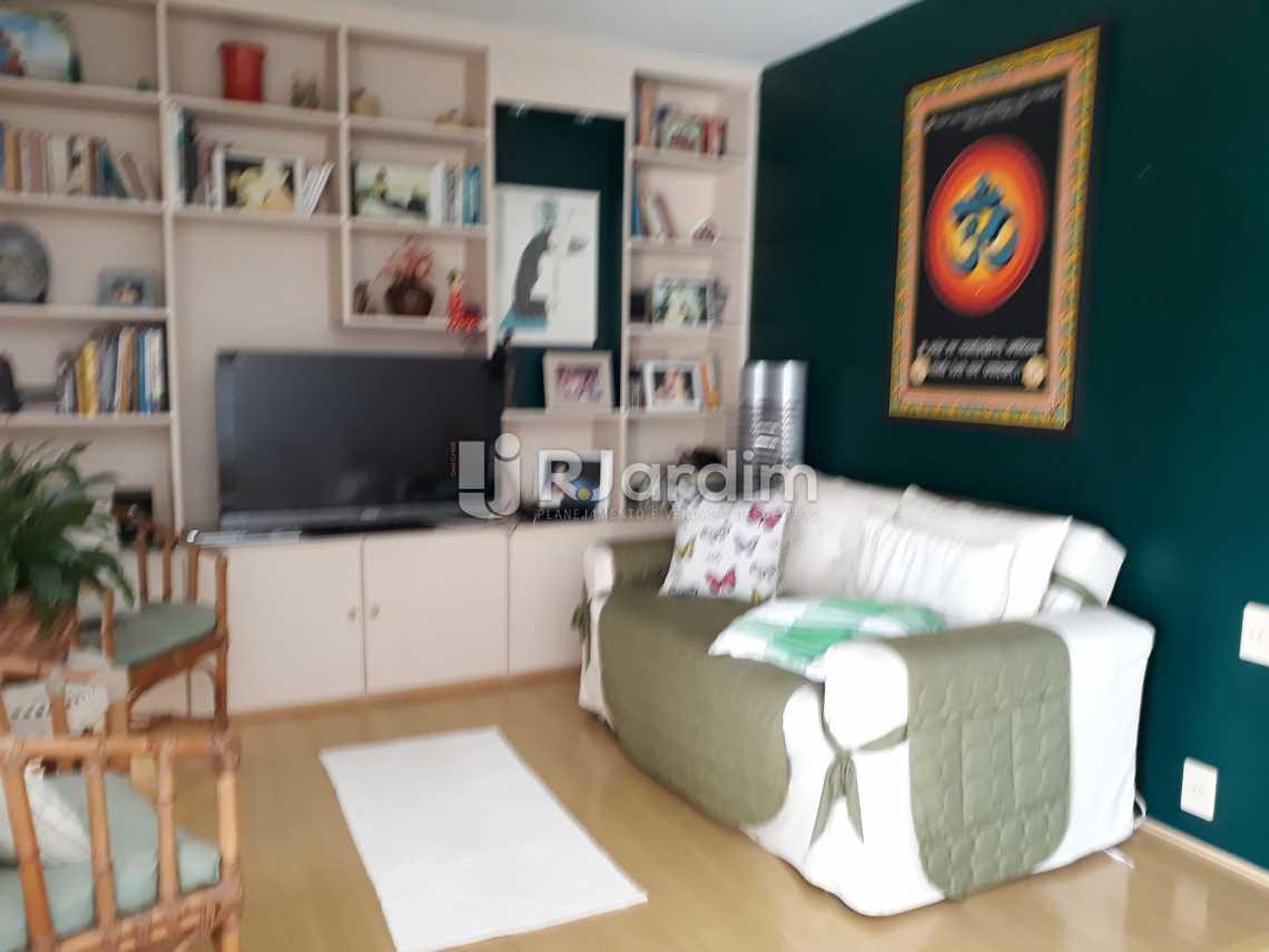 Sala TV - Cobertura Lagoa 2 Quartos Compra Venda Avaliação Imóveis - LACO20075 - 8