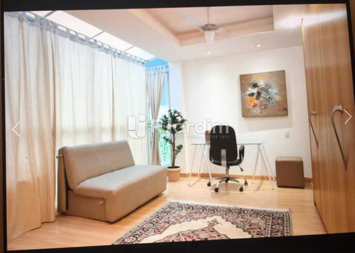 1o quarto ou escritório  - Cobertura 4 quartos para alugar Ipanema, Zona Sul,Rio de Janeiro - R$ 30.000 - LACO40138 - 6
