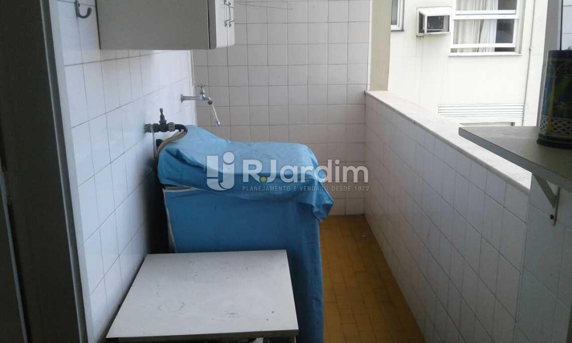 ÁREA DE SERVIÇO - Imóveis Compra Venda Avaliação Apartamento Leblon 3 Quartos - LAAP31532 - 26