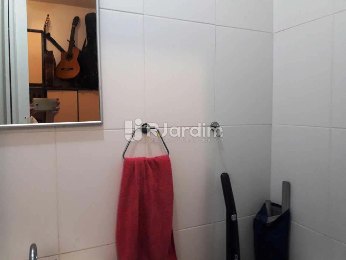 Banheiro dependência - Apartamento 3 quartos à venda Ipanema, Zona Sul,Rio de Janeiro - R$ 1.970.000 - LAAP31534 - 24