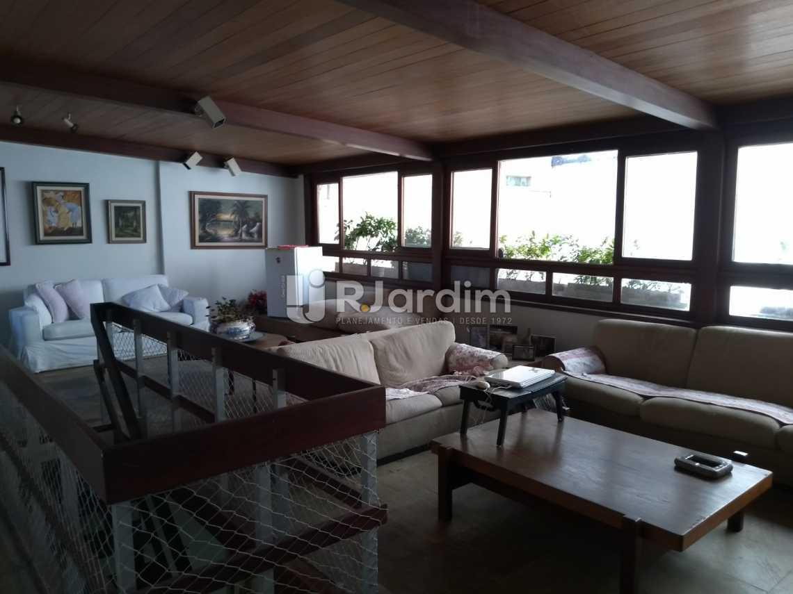salão - Cobertura À VENDA, Ipanema, Rio de Janeiro, RJ - LACO40139 - 9