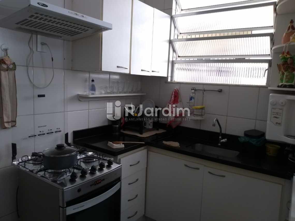 cozinha - Imóveis Compra Venda Avaliação Apartamento Humaitá 3 Quartos - LAAP31556 - 20