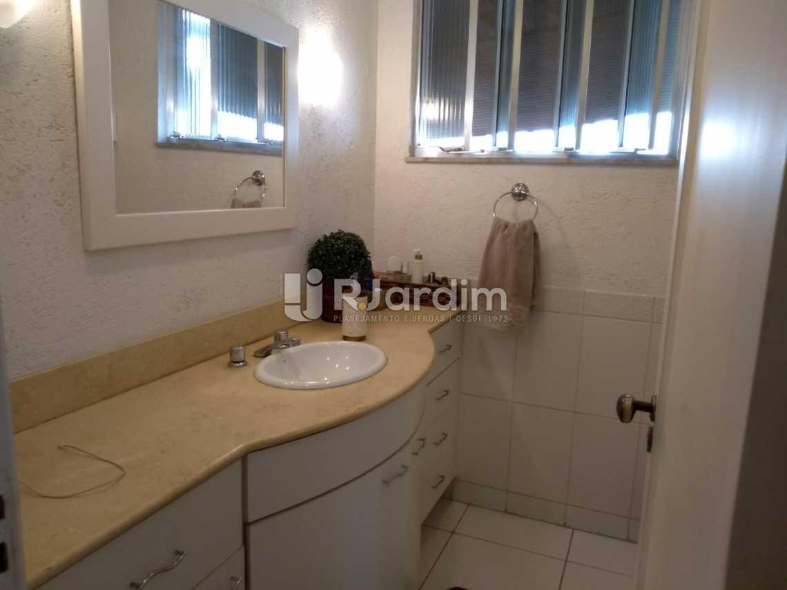 banheiro - Imóveis Compra Venda Avaliação Apartamento Humaitá 3 Quartos - LAAP31556 - 16
