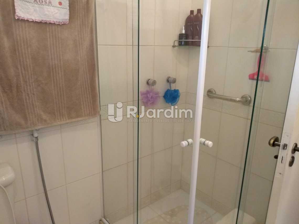 banheiro - Imóveis Compra Venda Avaliação Apartamento Humaitá 3 Quartos - LAAP31556 - 17