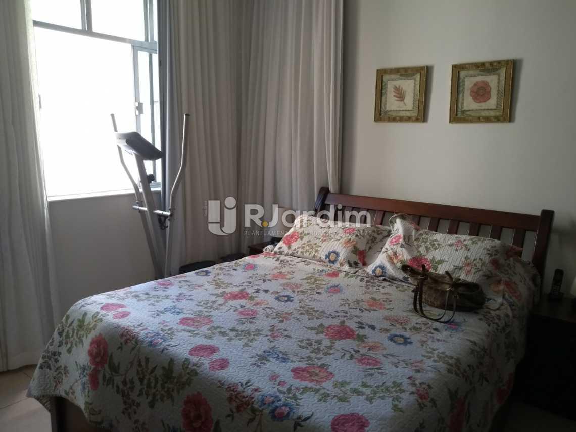 quarto/vista Cristo  - Imóveis Compra Venda Avaliação Apartamento Humaitá 3 Quartos - LAAP31556 - 14