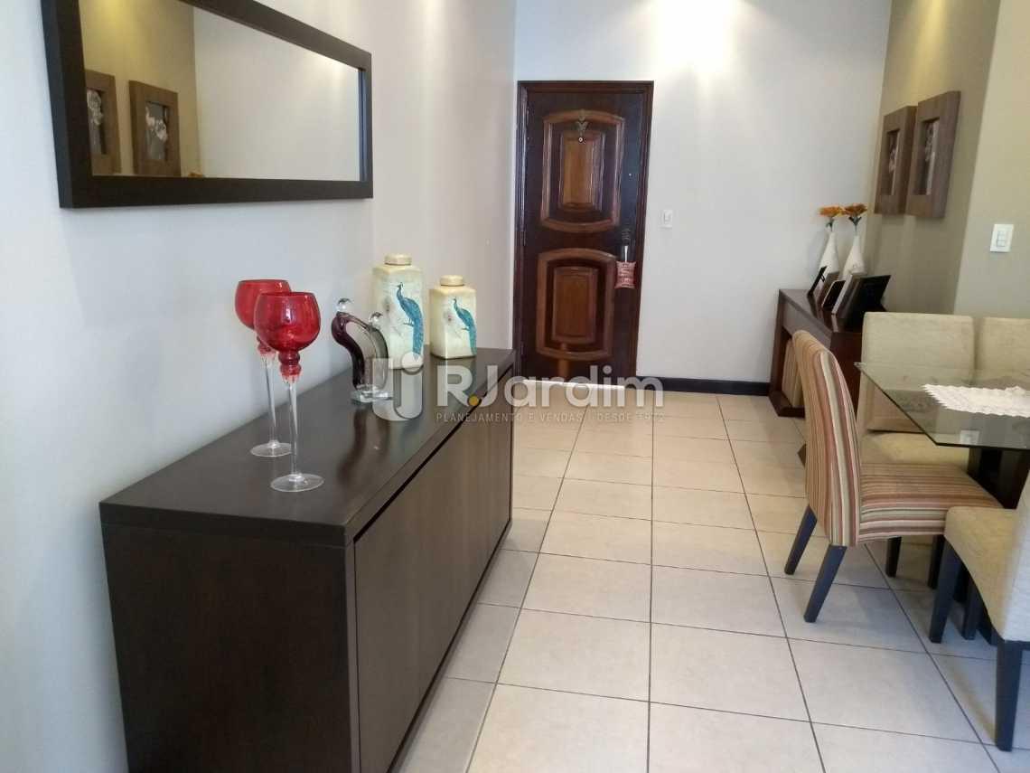 sala /entrada social  - Imóveis Compra Venda Avaliação Apartamento Humaitá 3 Quartos - LAAP31556 - 8