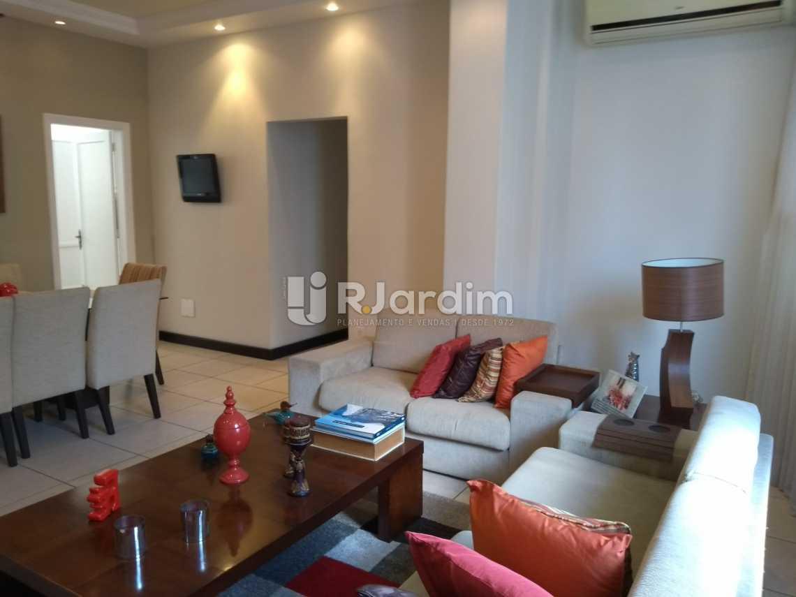 sala - Imóveis Compra Venda Avaliação Apartamento Humaitá 3 Quartos - LAAP31556 - 6
