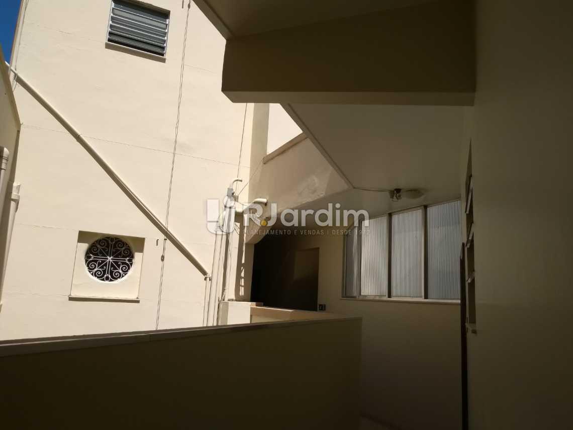 área interna / prédio - Imóveis Compra Venda Avaliação Apartamento Humaitá 3 Quartos - LAAP31556 - 22