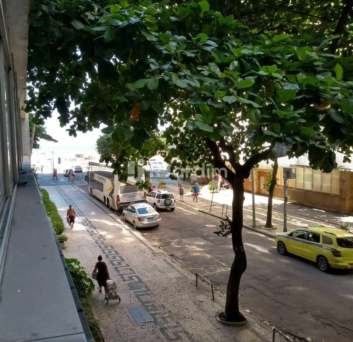 vista parcial / mar  - Apartamento Residencial Copacabana - LAAP40620 - 31