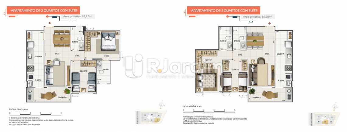 UPPER - UPPER Smart Apartamento Grajaú 2 Quartos - LAAP21100 - 15