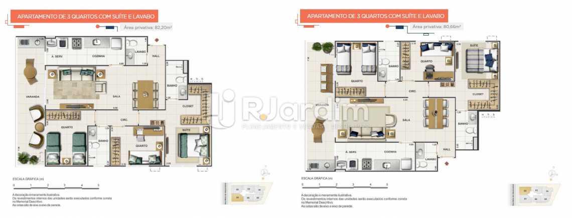 UPPER - UPPER SMART Apartamento Grajaú 3 Quartos - LAAP31564 - 13