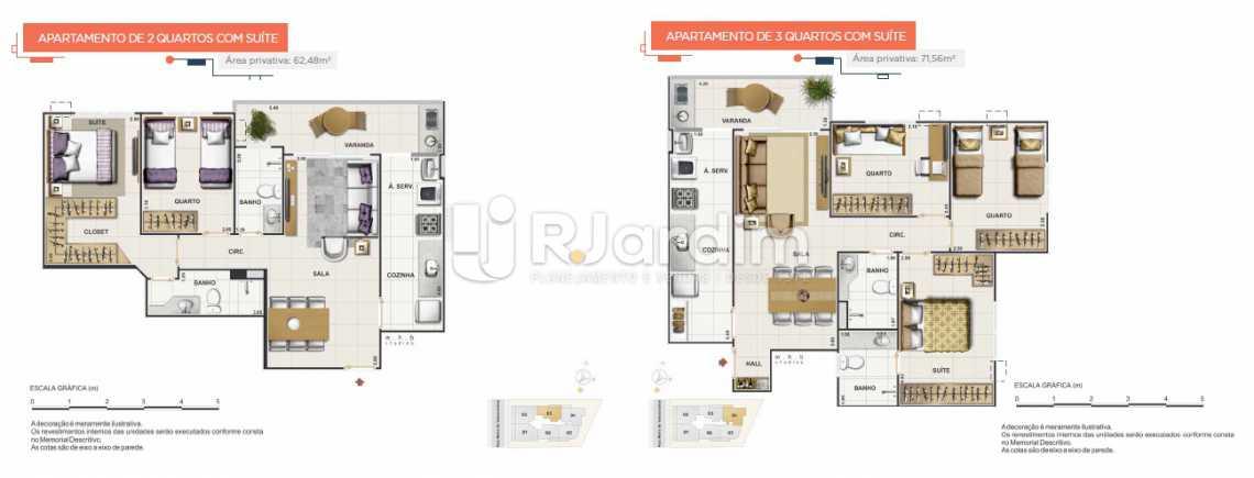 UPPER - UPPER SMART Apartamento Grajaú 3 Quartos - LAAP31564 - 14