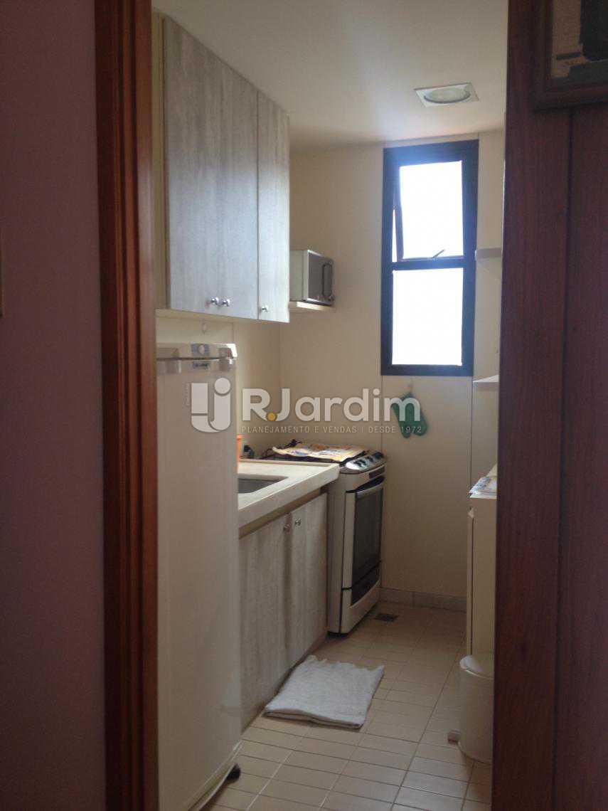 Cozinha  - Flat Para Alugar - Leblon - Rio de Janeiro - RJ - LAFL10068 - 10
