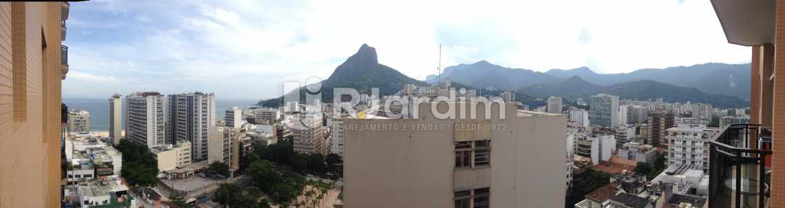 Vista Panoramica - Flat Para Alugar - Leblon - Rio de Janeiro - RJ - LAFL10068 - 12