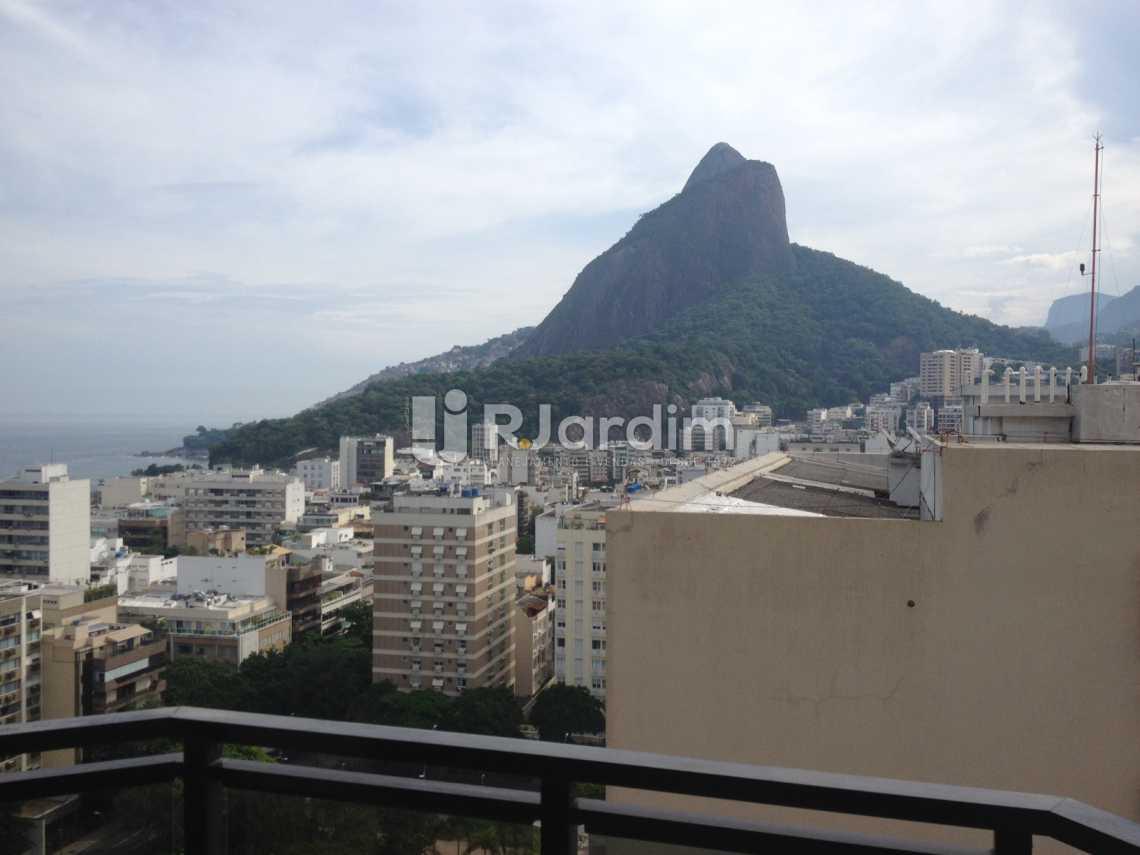 Vista  - Flat Para Alugar - Leblon - Rio de Janeiro - RJ - LAFL10068 - 1