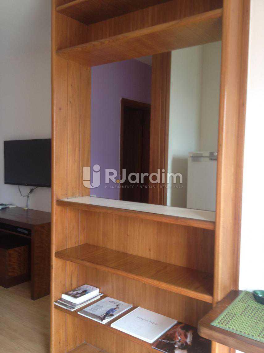 Sala cozinha americana - Flat Para Alugar - Leblon - Rio de Janeiro - RJ - LAFL10068 - 8