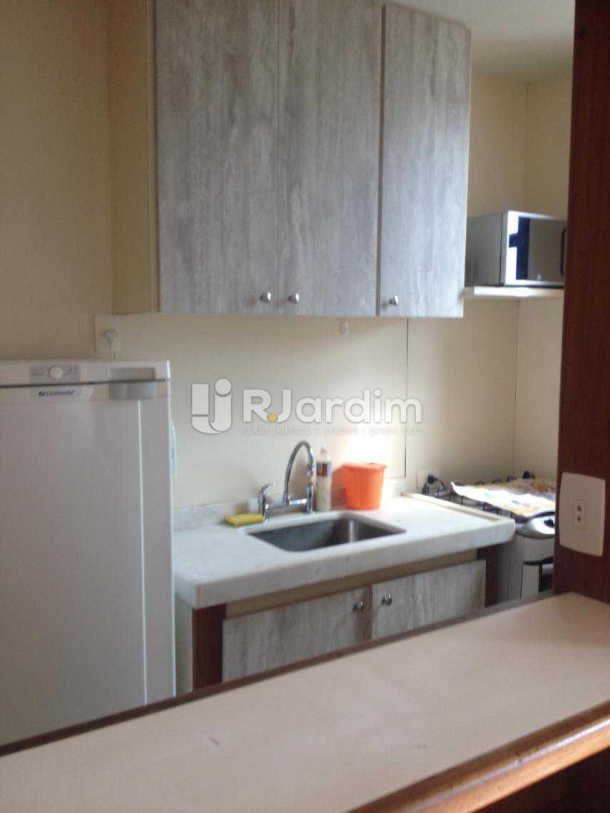 Cozinha - Flat Para Alugar - Leblon - Rio de Janeiro - RJ - LAFL10068 - 9