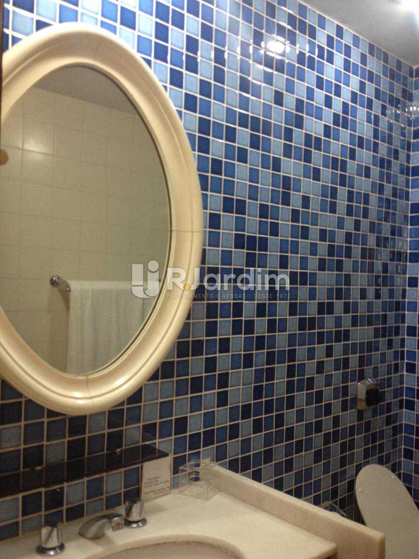 Banheiro - Flat Para Alugar - Leblon - Rio de Janeiro - RJ - LAFL10068 - 17