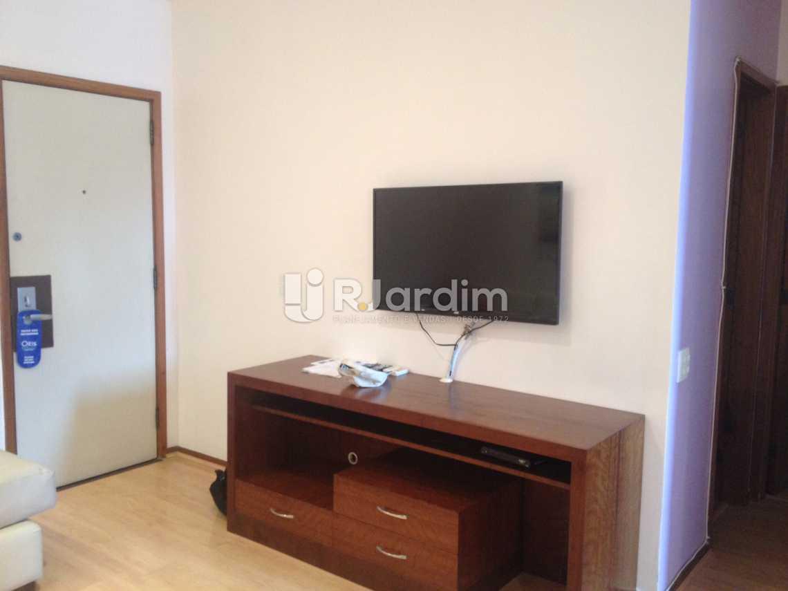 Sala Tv - Flat Para Alugar - Leblon - Rio de Janeiro - RJ - LAFL10068 - 29