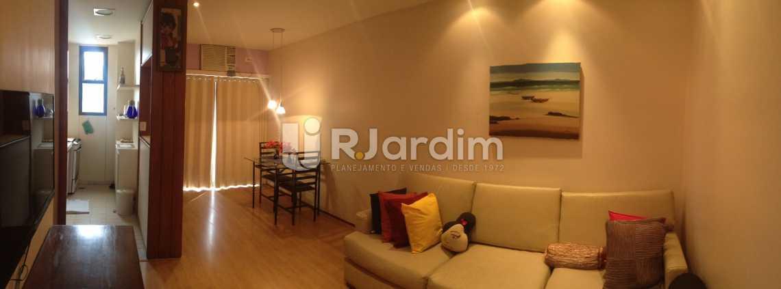 Sala Panoramica - Flat Para Alugar - Leblon - Rio de Janeiro - RJ - LAFL10068 - 3