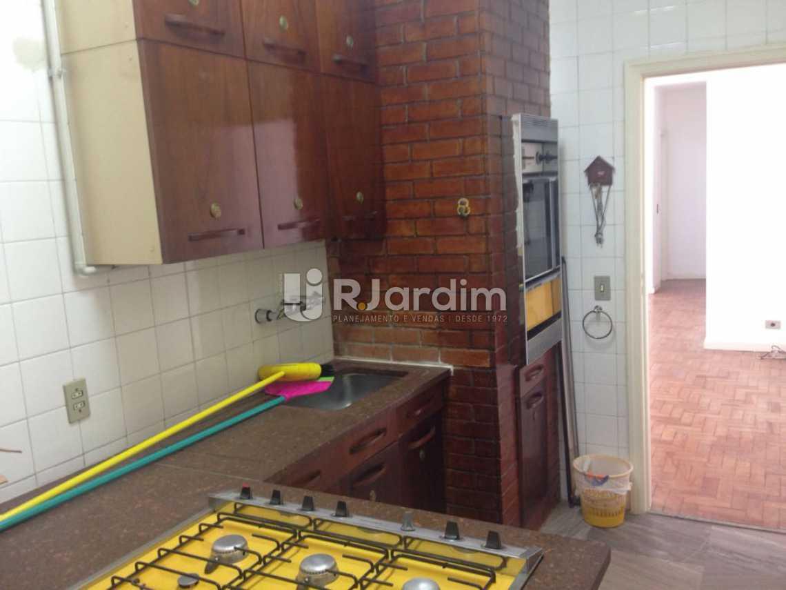 Cozinha - Apartamento Lagoa 3 Quartos Aluguel Administração Imóveis - LAAP31575 - 17