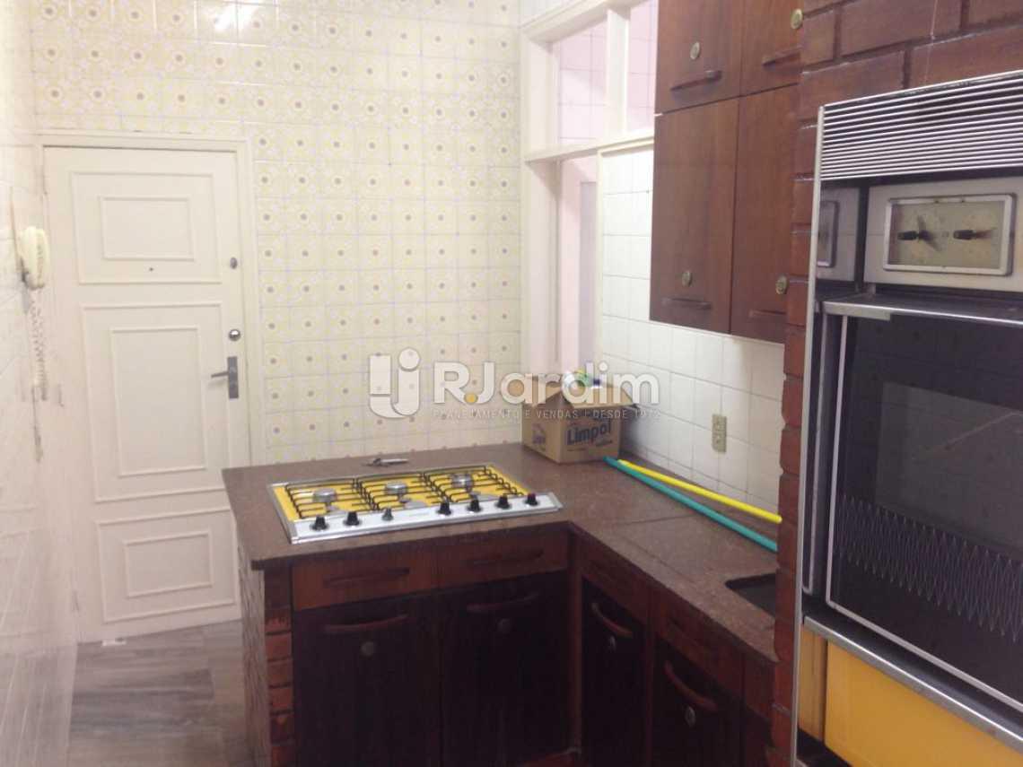 Cozinha - Apartamento Lagoa 3 Quartos Aluguel Administração Imóveis - LAAP31575 - 16