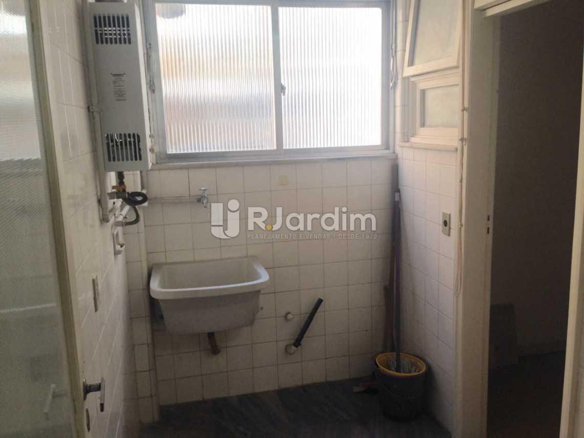 Área de serviço - Apartamento Lagoa 3 Quartos Aluguel Administração Imóveis - LAAP31575 - 20
