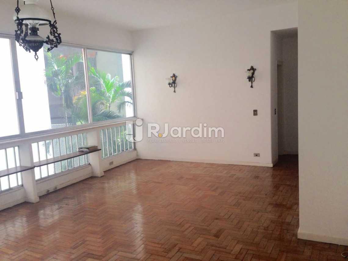 Sala - Apartamento Lagoa 3 Quartos Aluguel Administração Imóveis - LAAP31575 - 1