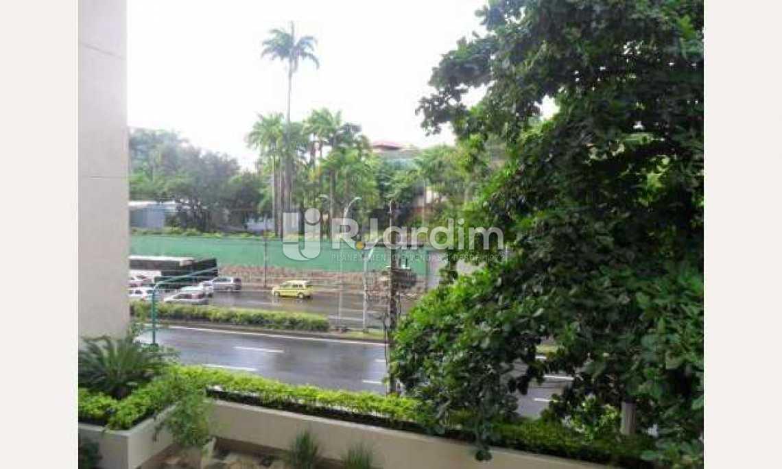 Vista Frontal - Apartamento À Venda - Gávea - Rio de Janeiro - RJ - LAAP32054 - 16