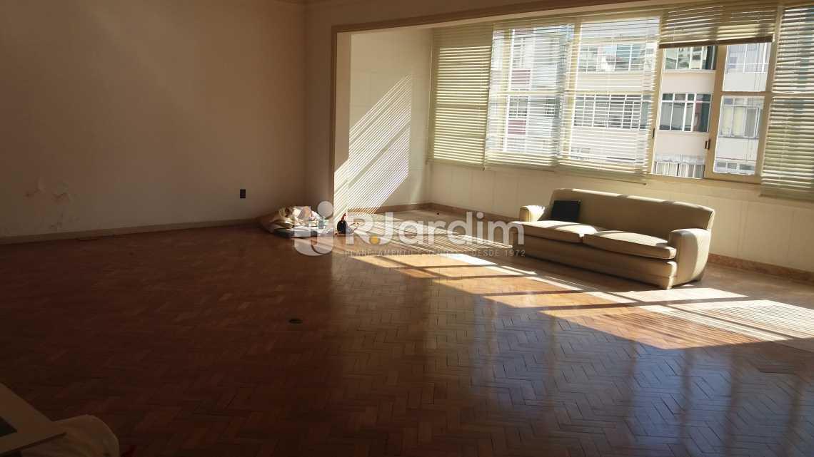 Living - Apartamento à venda Rua Constante Ramos,Copacabana, Zona Sul,Rio de Janeiro - R$ 2.680.000 - LAAP40631 - 1