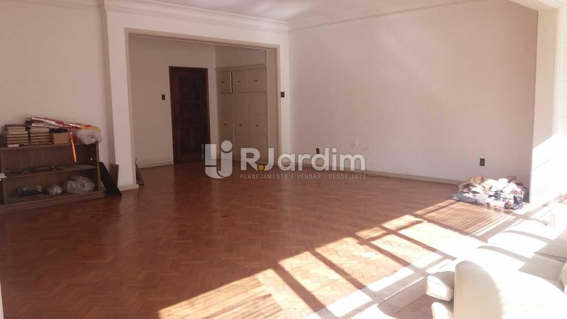 Living - Apartamento à venda Rua Constante Ramos,Copacabana, Zona Sul,Rio de Janeiro - R$ 2.680.000 - LAAP40631 - 3
