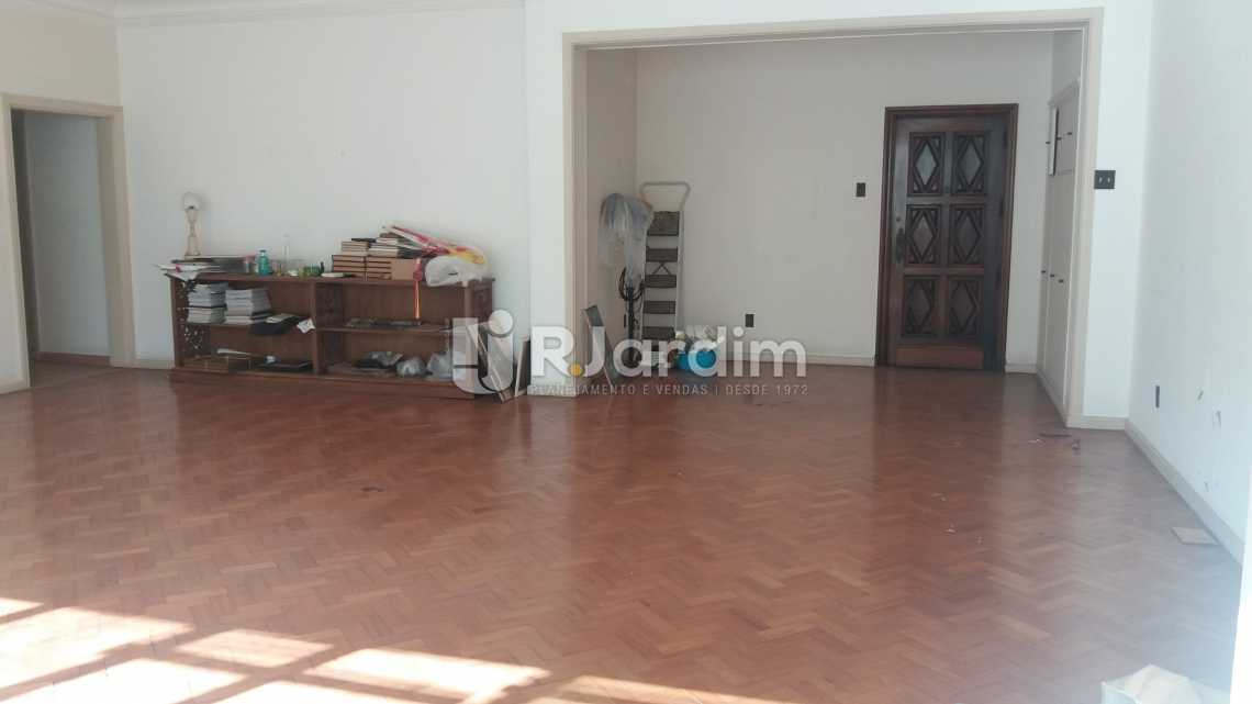 Living - Apartamento à venda Rua Constante Ramos,Copacabana, Zona Sul,Rio de Janeiro - R$ 2.680.000 - LAAP40631 - 4