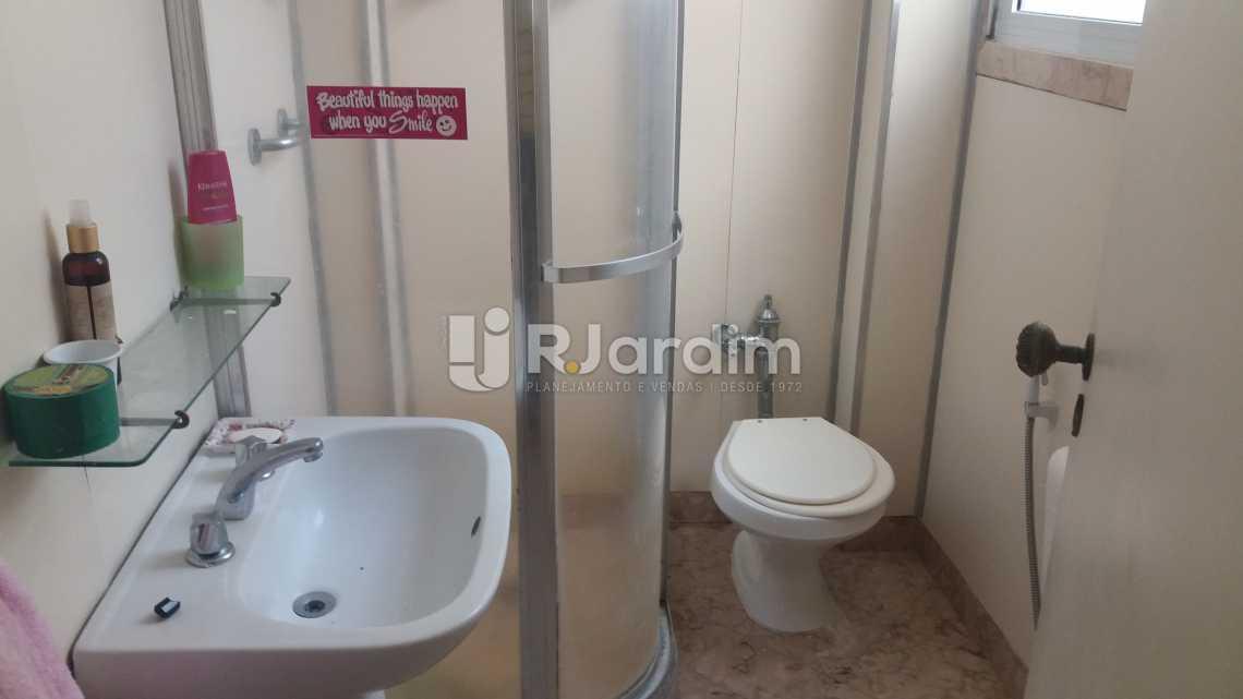 WC suíte - Apartamento à venda Rua Constante Ramos,Copacabana, Zona Sul,Rio de Janeiro - R$ 2.680.000 - LAAP40631 - 15