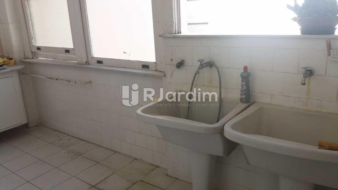 Área - Apartamento à venda Rua Constante Ramos,Copacabana, Zona Sul,Rio de Janeiro - R$ 2.680.000 - LAAP40631 - 25