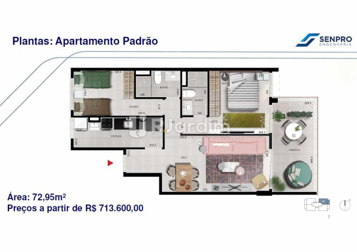 MARQUÊS DE VALENÇA - Apartamento 2 quartos à venda Tijuca, Zona Norte - Grande Tijuca,Rio de Janeiro - R$ 681.600 - LAAP21136 - 5