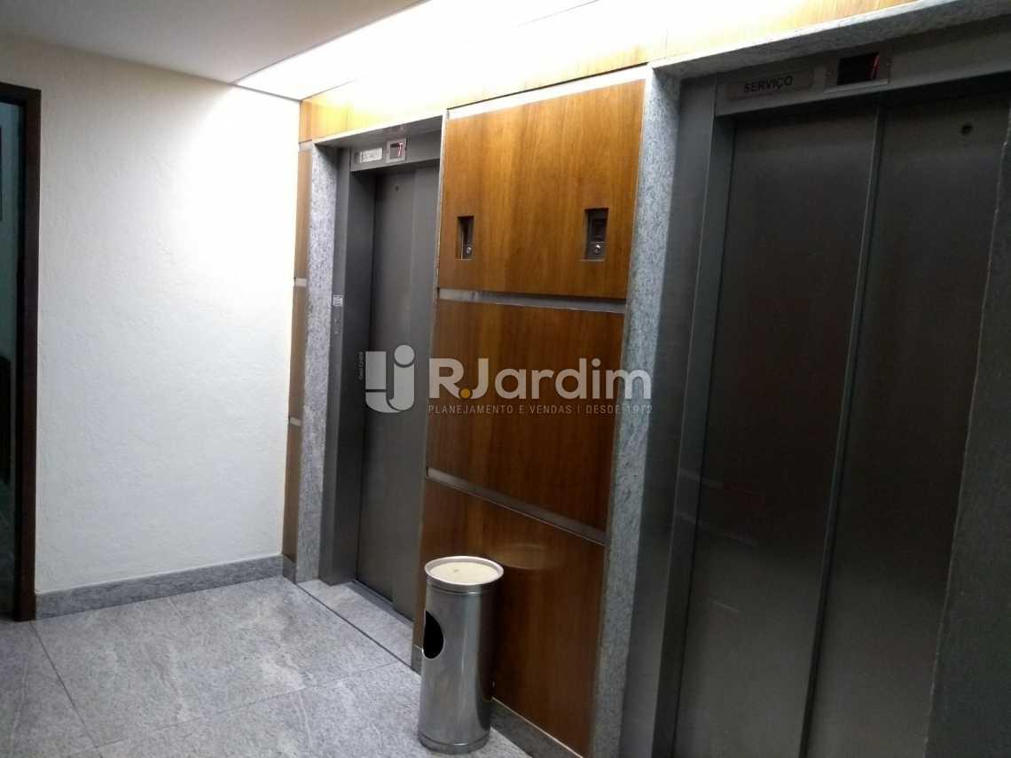 elevadores  - Flat À VENDA, Jardim Botânico, Rio de Janeiro, RJ - LAFL10069 - 22
