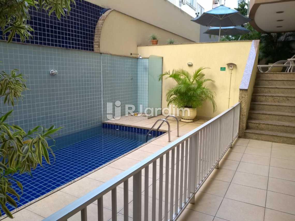 piscina /área comum  - Flat À VENDA, Jardim Botânico, Rio de Janeiro, RJ - LAFL10069 - 19