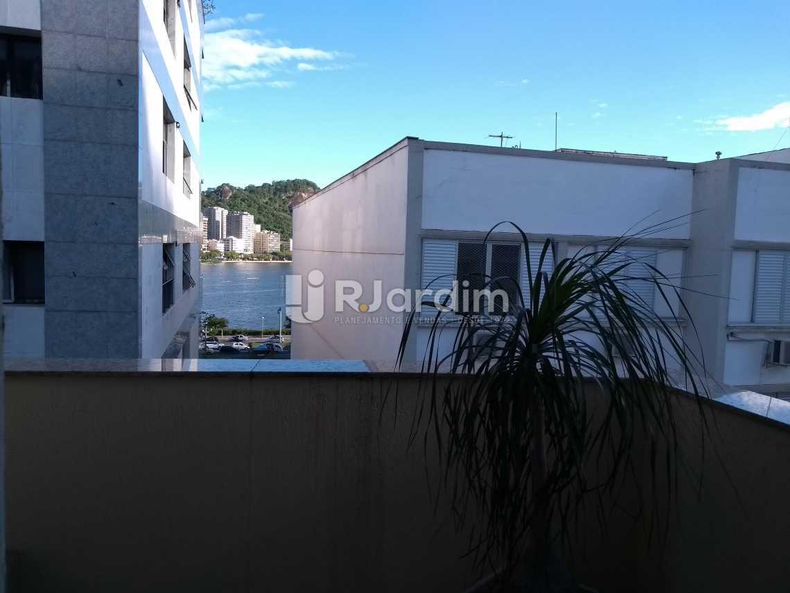 varanda  - Flat À VENDA, Jardim Botânico, Rio de Janeiro, RJ - LAFL10069 - 10