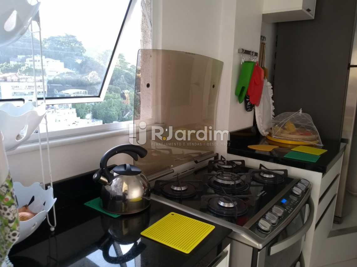 cozinha  - Cobertura À VENDA, Leblon, Rio de Janeiro, RJ - LACO30227 - 22