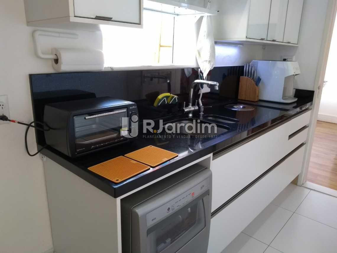 cozinha  - Cobertura À VENDA, Leblon, Rio de Janeiro, RJ - LACO30227 - 24